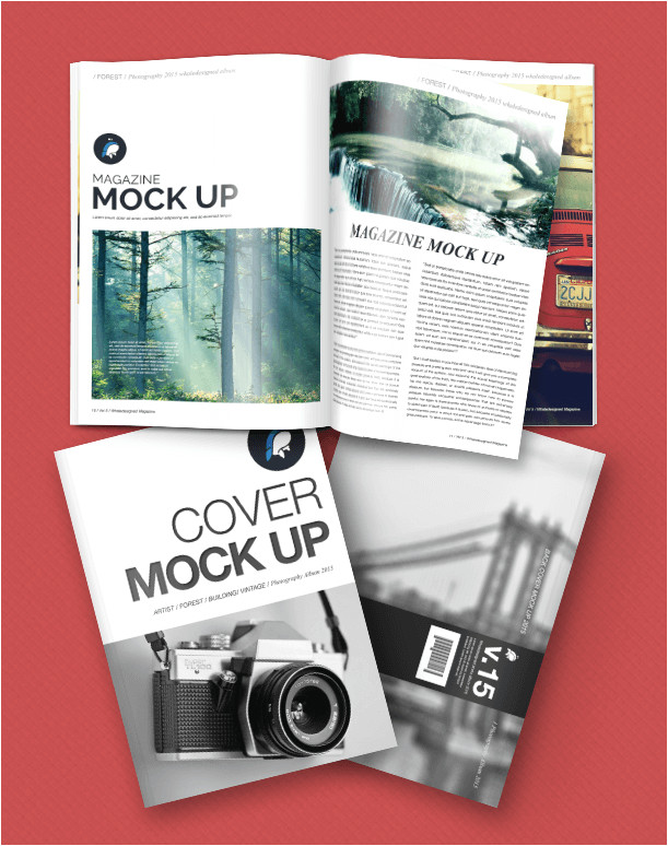 E Magazine Templates Free Download 18 Free Magazine Mockup Templates for Designers