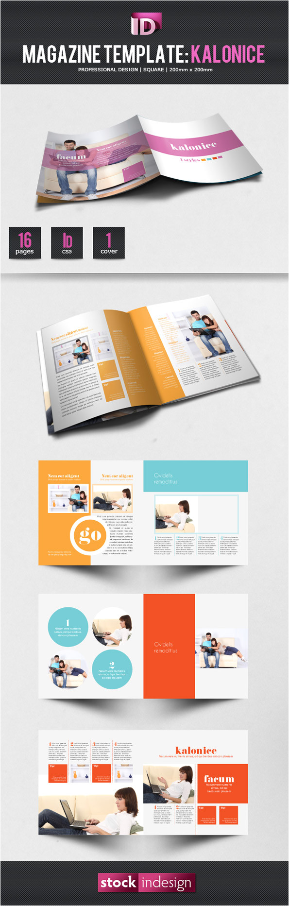 e magazine template free download