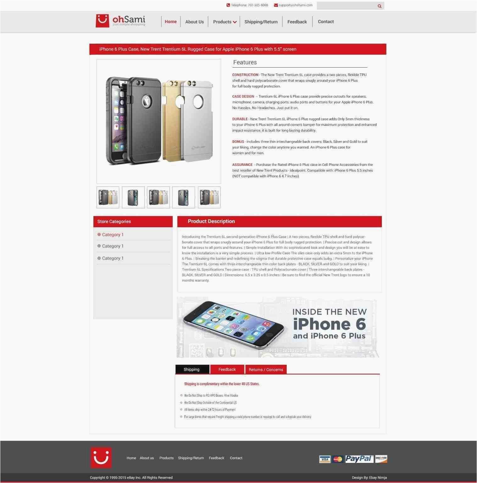 free ebay store templates