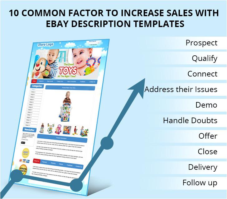 10 common factor to increase sales with ebay description templates