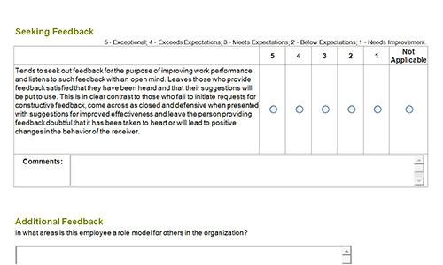 ebay seller feedback template