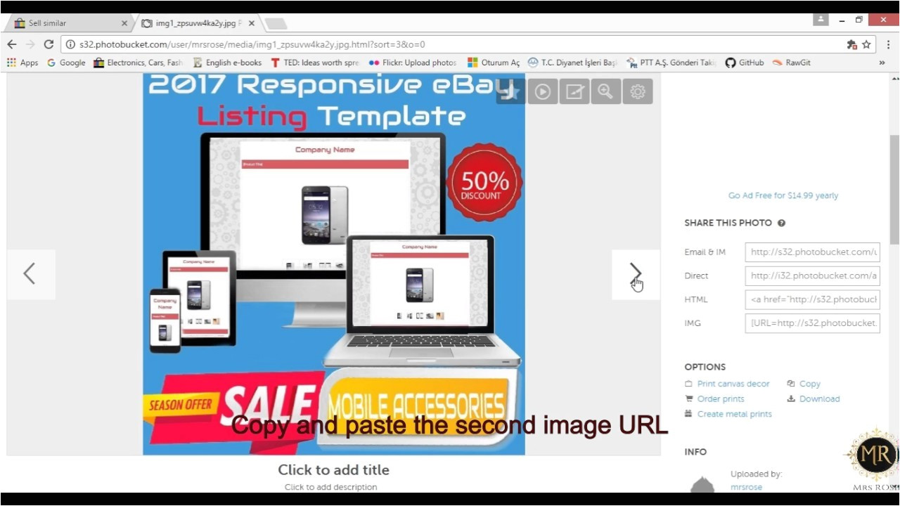create your own ebay listing template