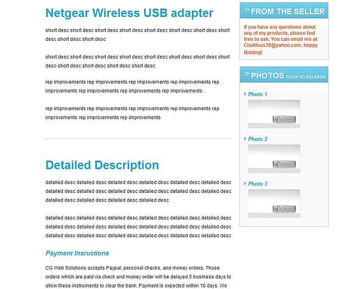 responsive ebay listing template examples free generator