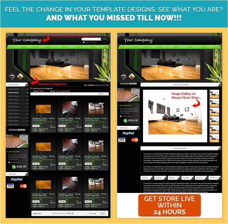 stunning ebay shop html ebay listing mobile responsive template for furnitures