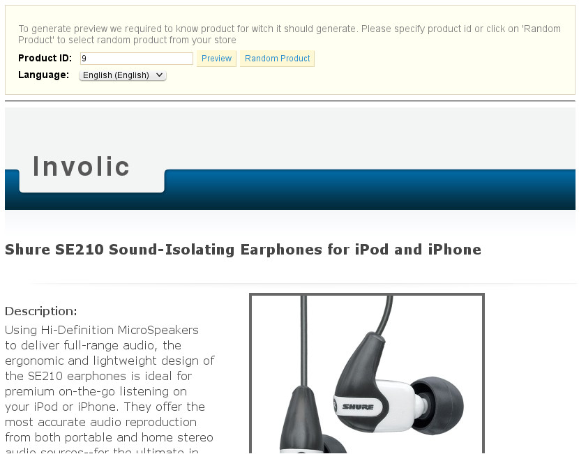 Ebay Product Description Template Prestabay Prestashop Ebay Integration Description