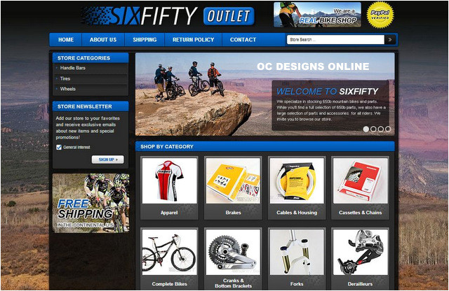 turn your online bike shop into something special with a custom bike ebay store design