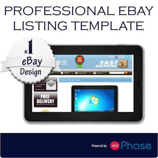 Ebay Template Design software Ebay Listing Template Design Compatible with Inkfrog
