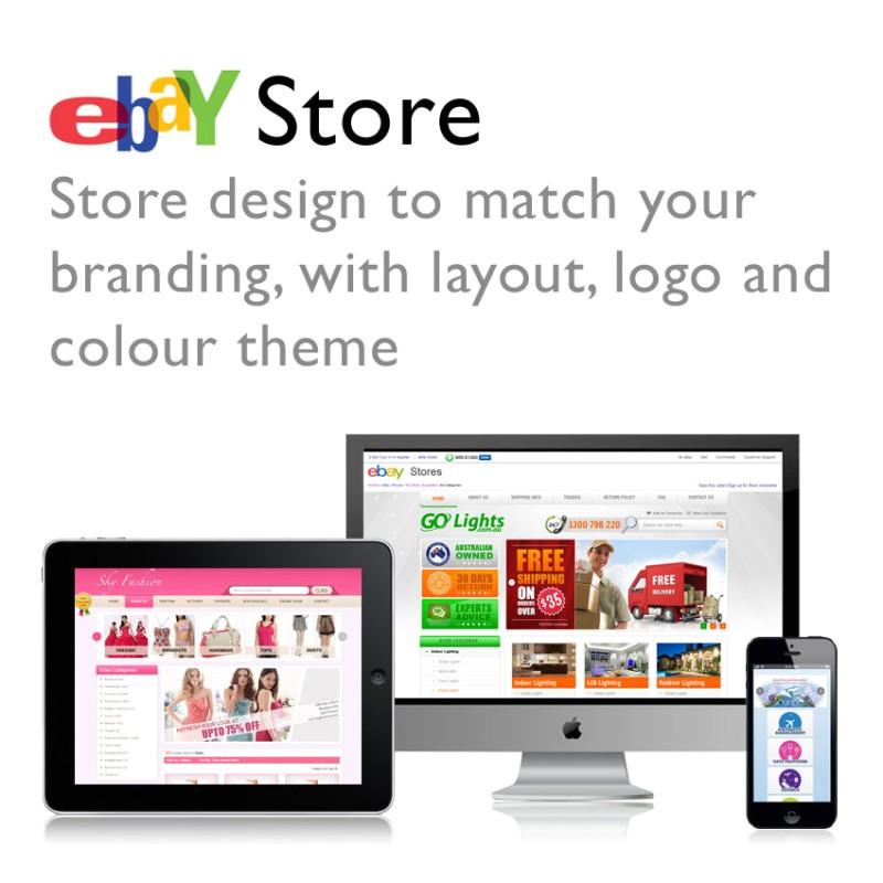 ebay store template design