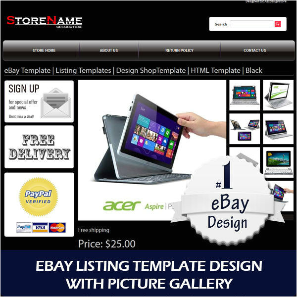 Ebay Template Design software Ebay Template Listing Templates Design Shoptemplate