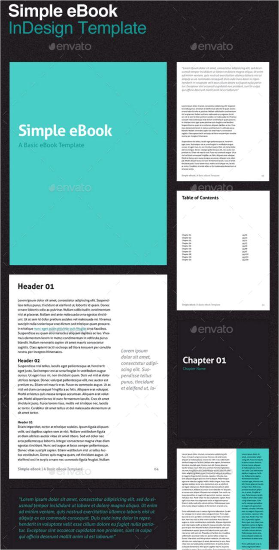indesign ebook templates