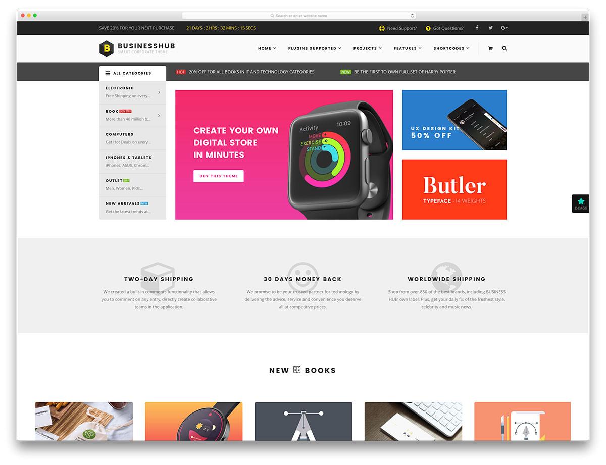 best ecommerce themes