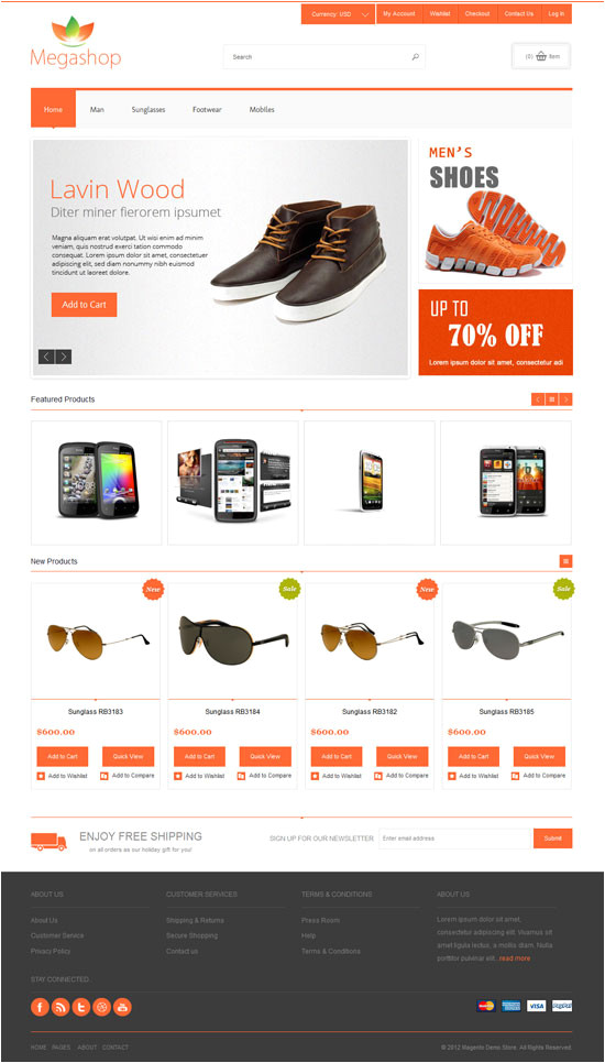 best ecommerce templates