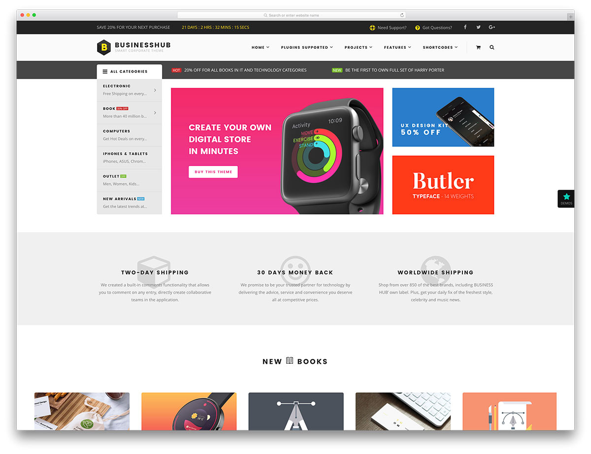 Ecomerce Templates 51 Awesome Ecommerce WordPress themes 2018 Colorlib