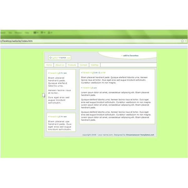 Edit Dreamweaver Template How to Edit An Existing Site with Dreamweaver
