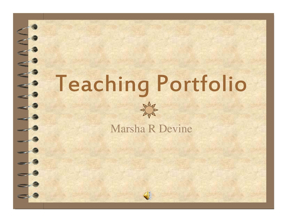 teachingportfoliomdevine208