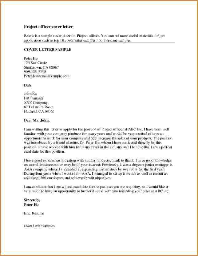 8 good resume cover letter