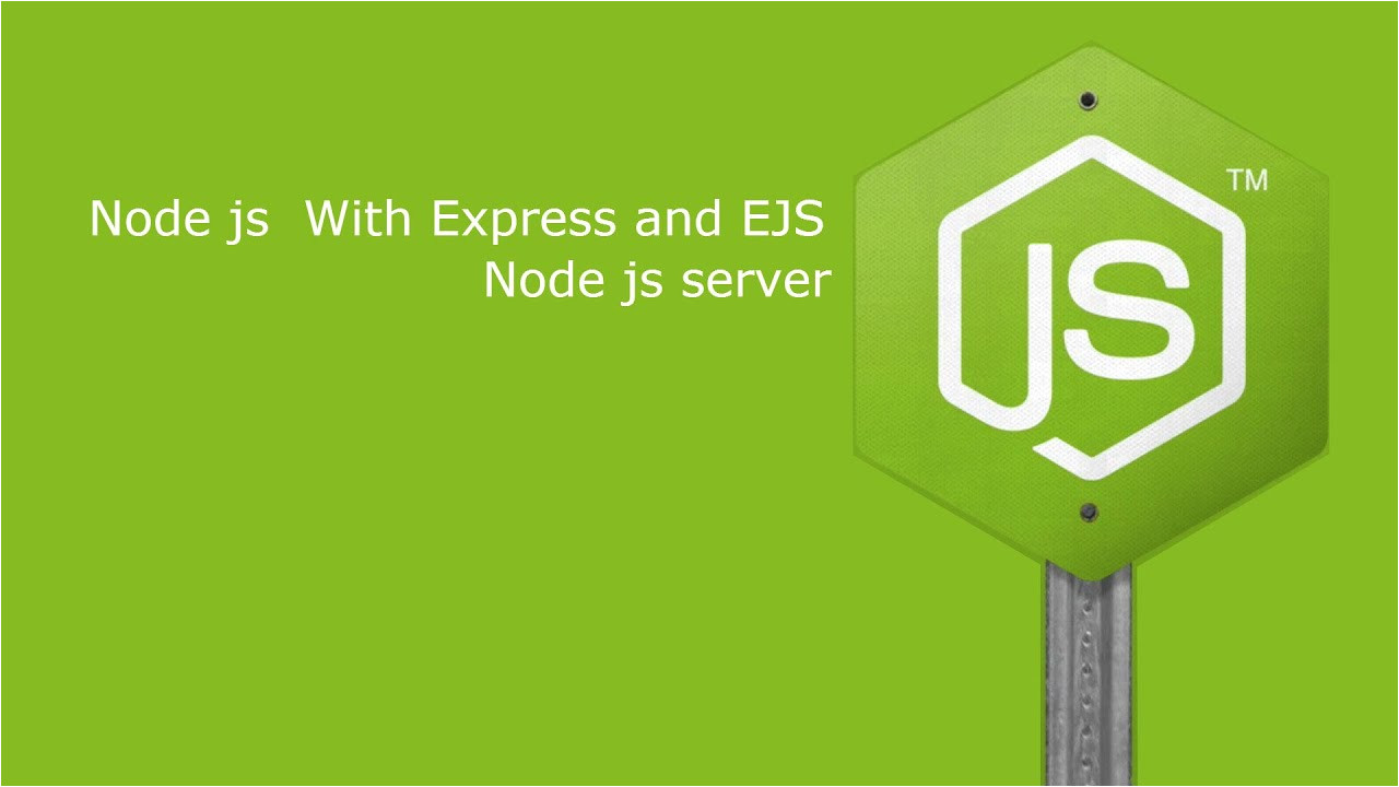 Ejs Templates Node Js Express Web App with Ejs Template Youtube