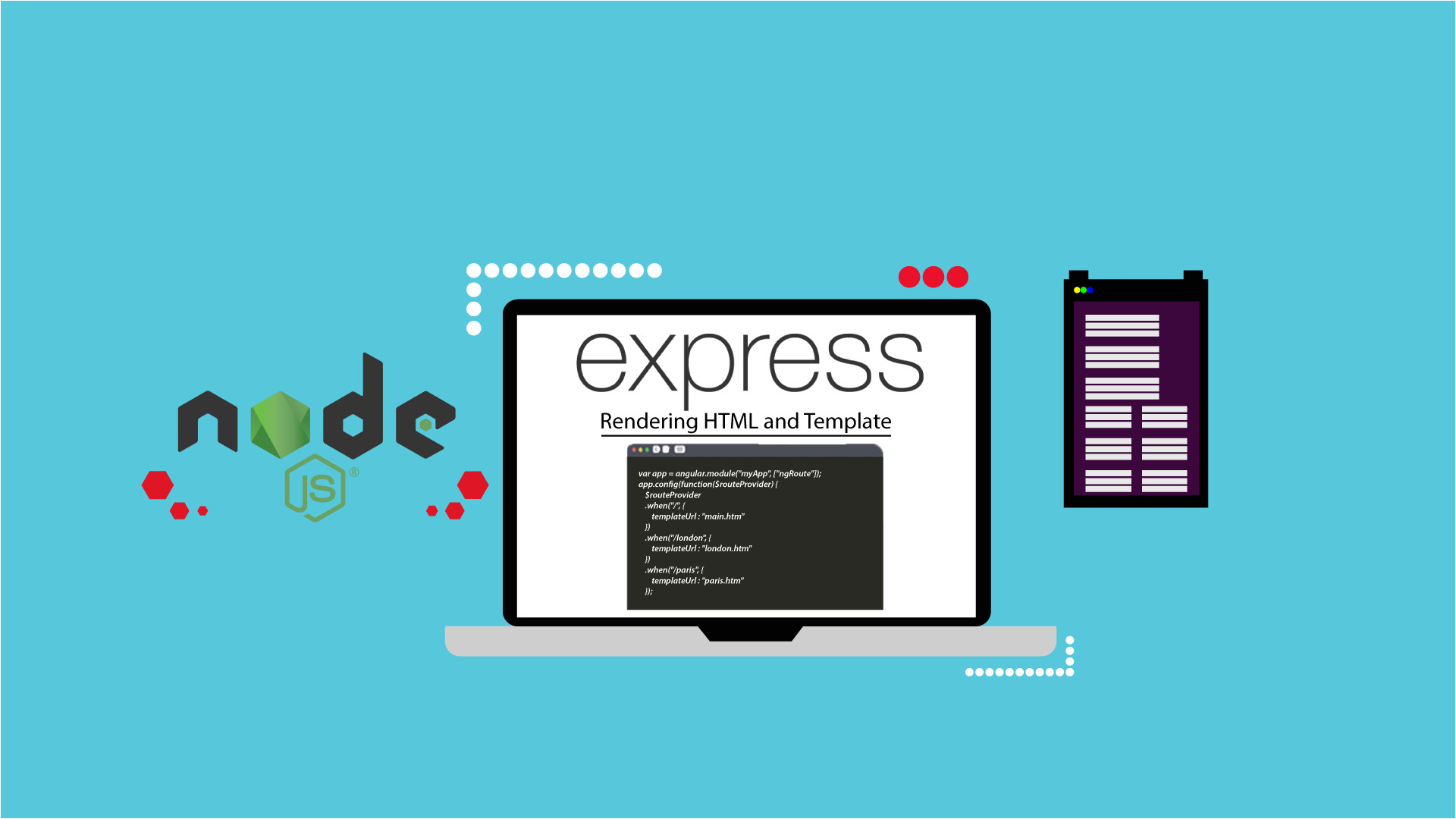Ejs Templates What is Ejs Render HTML Page Using Nodejs Express