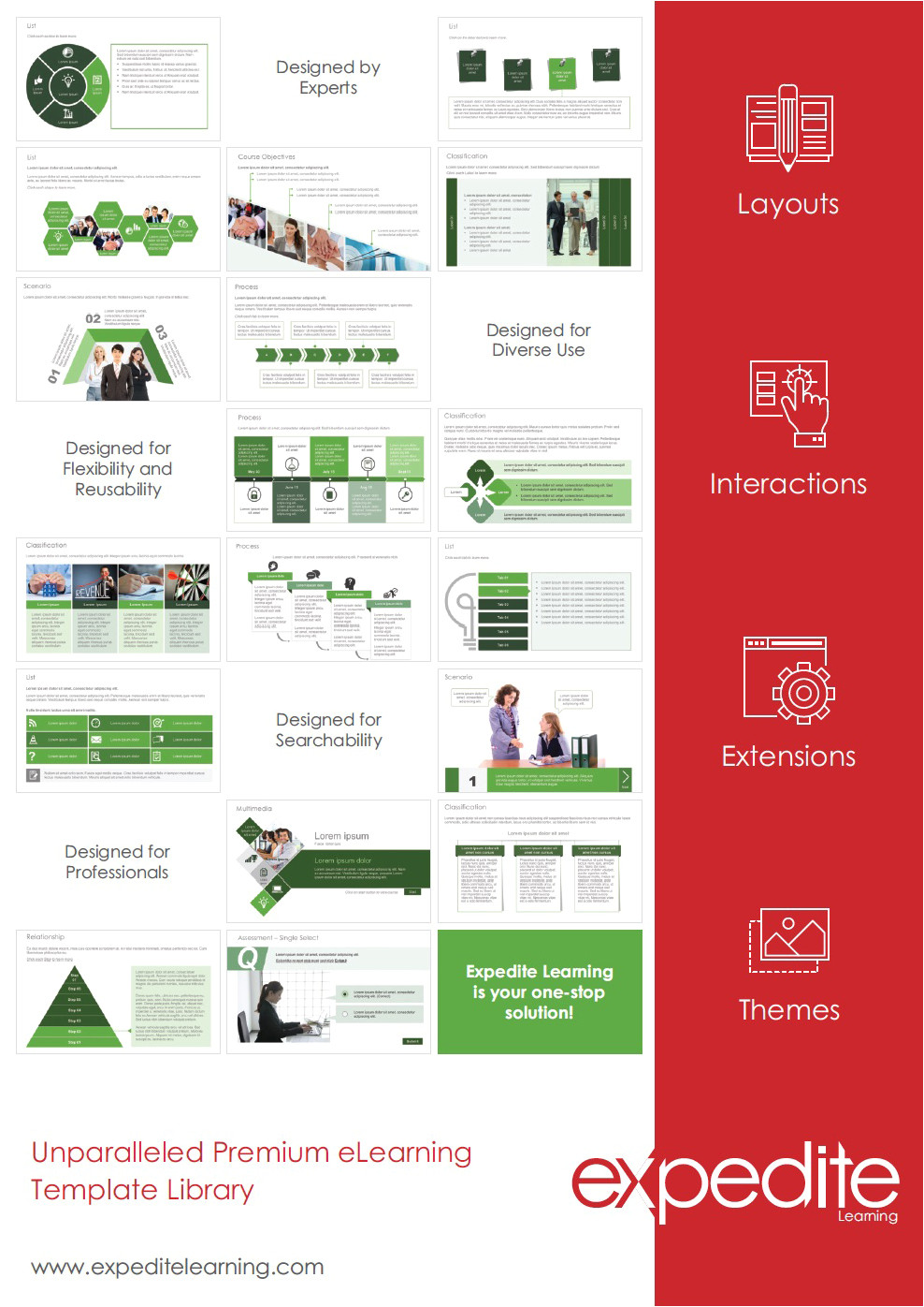 expedite learning articulate storyline based elearning template library