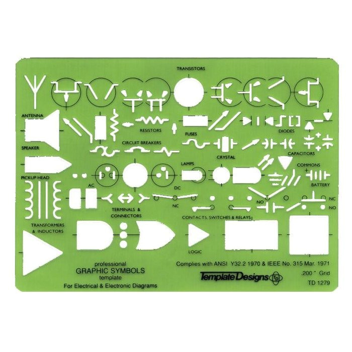 alvin td1279 electric electronic template