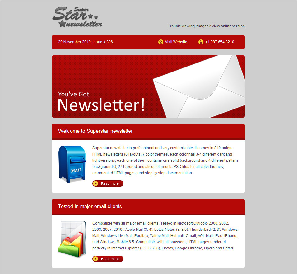 email templates for ads sales