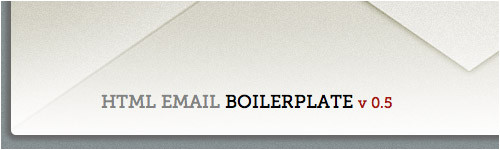 Email Template Boilerplate 16 Useful Boilerplates to Start Your Project Quickly