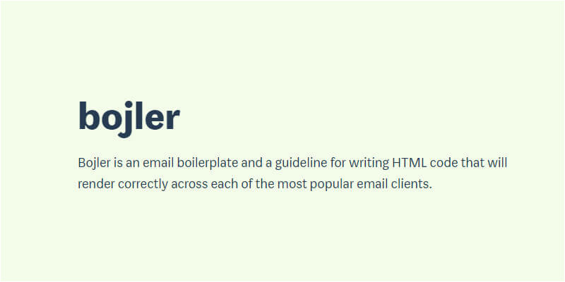 email boilerplate html guide