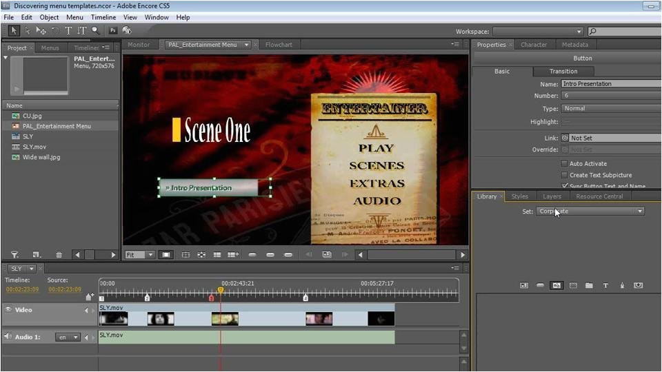 Encore Cs6 Menu Templates Encore Cs6 Menu Templates Free Create A Dvd with Adobe