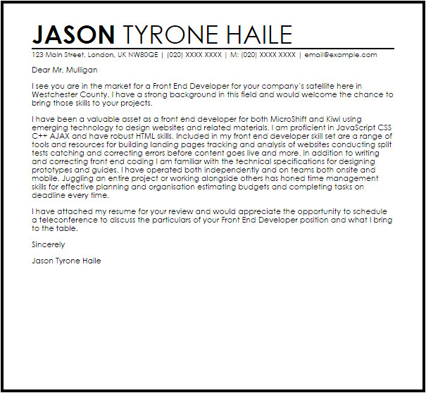 Ending A Covering Letter Good Covering Letter Templates