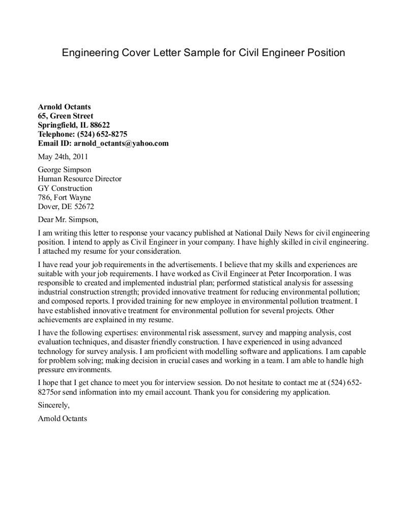best cover letter for internship sample