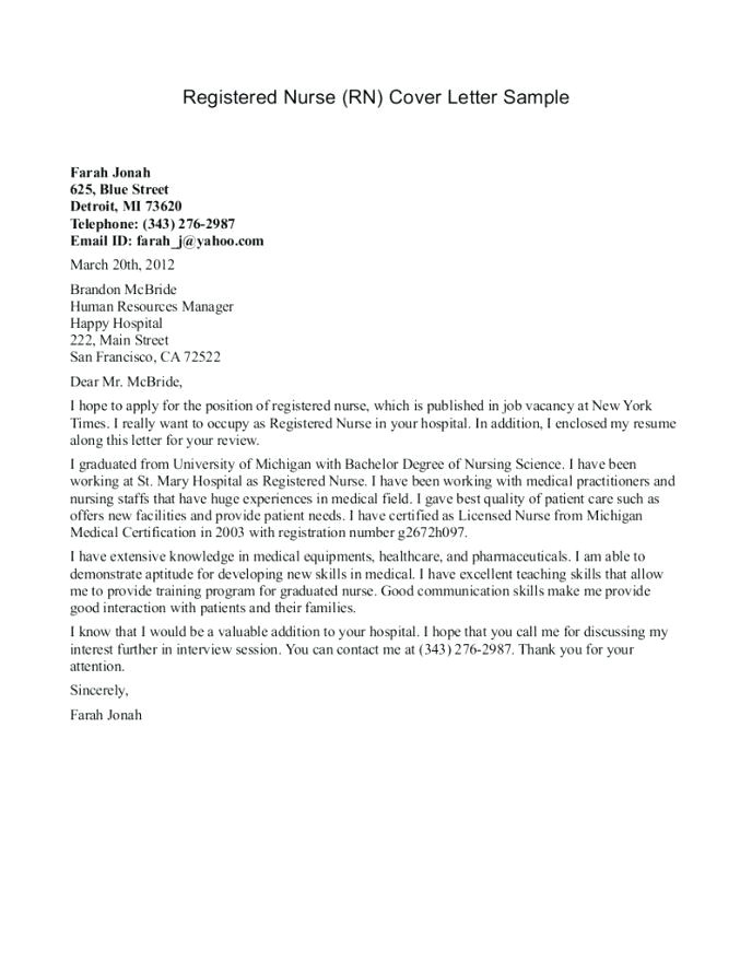 nurse cover letter sample nursing letters example for positions case manager