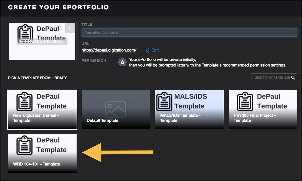 Eportfolio Templates Digication Technology Teaching Guides Teaching