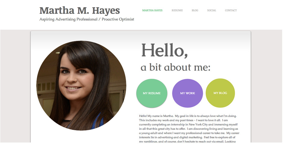 Eportfolio Templates Stellar Examples Of Creative Online Portfolio Personal