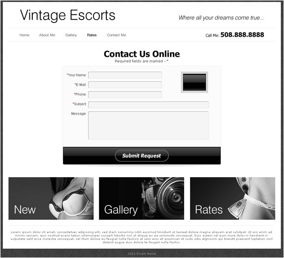 popular escort websites