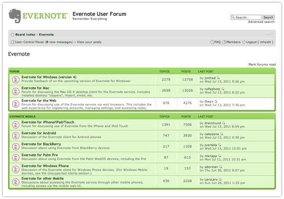calendar template for evernote
