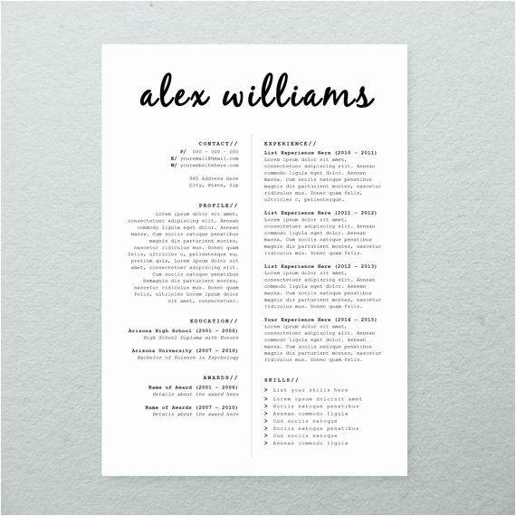 cv design cover letter printable resume templat