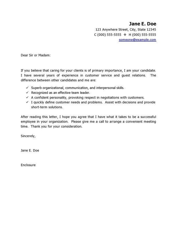 Example Of Cover Letter for Customer Service Job Customer Service Cover Letter Template Cover Letter