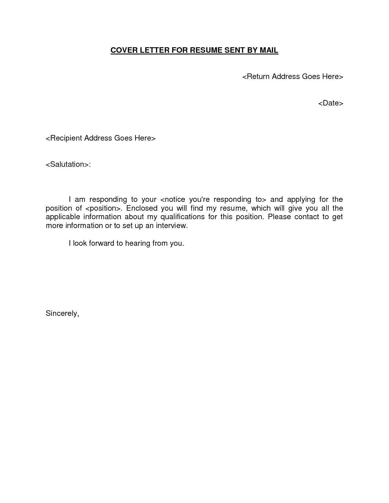 Example Of Covering Letter to Go with Cv Email Resume Cover Letter Template Learnhowtoloseweight Net