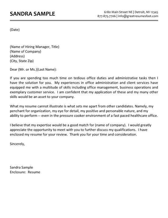 Examples Of Cover Letters for Admin Jobs Administrative assistant Cover Letter Example the O 39 Jays