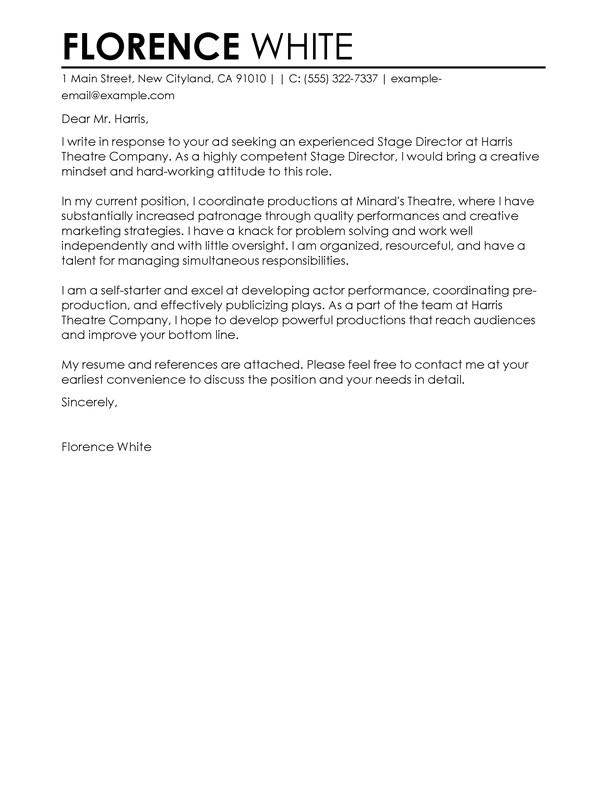 Examples Of Cover Letters for Healthcare Jobs Best Medical Cover Letter Examples Livecareer