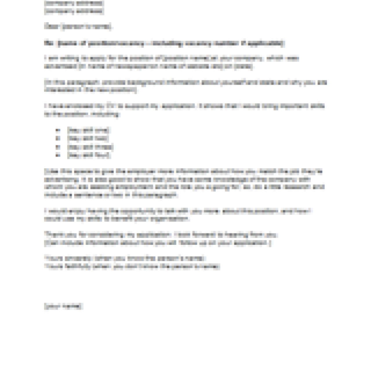 cover letter examples nz