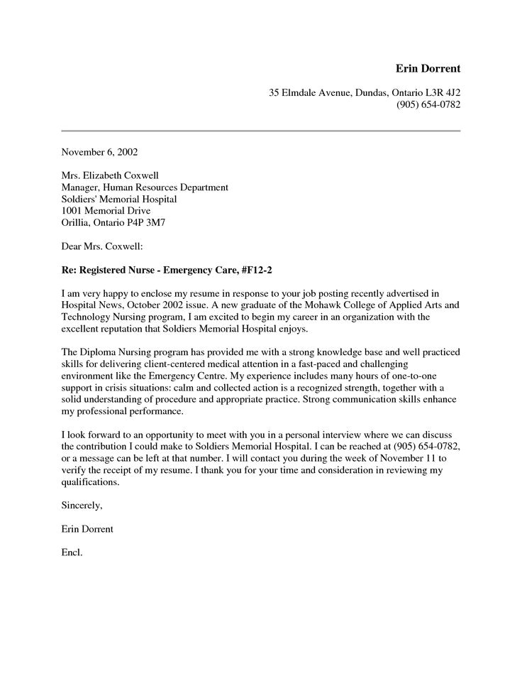Examples Of Nursing Cover Letters New Grad New Grad Nursing Cover Letter Google Search Nursing