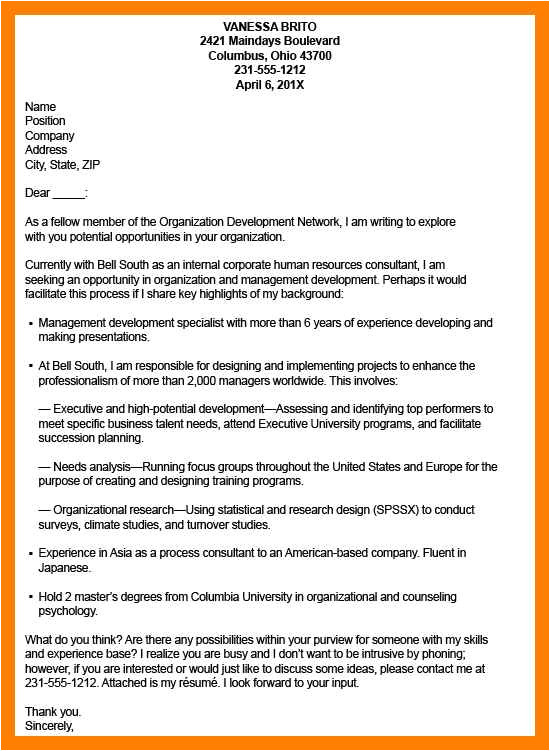 strong cover letter examples