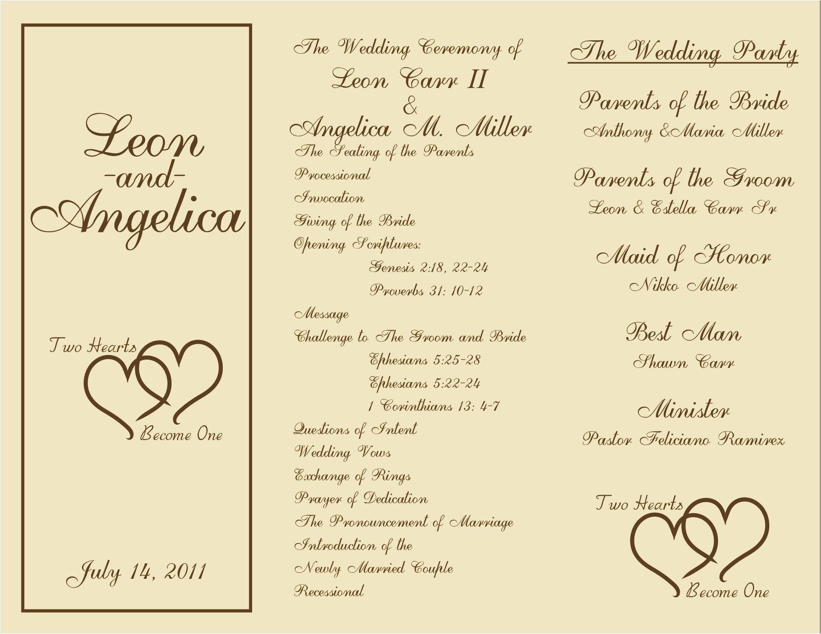 Examples Of Wedding Programs Templates Printable Wedding Programs On Pinterest Free Printable