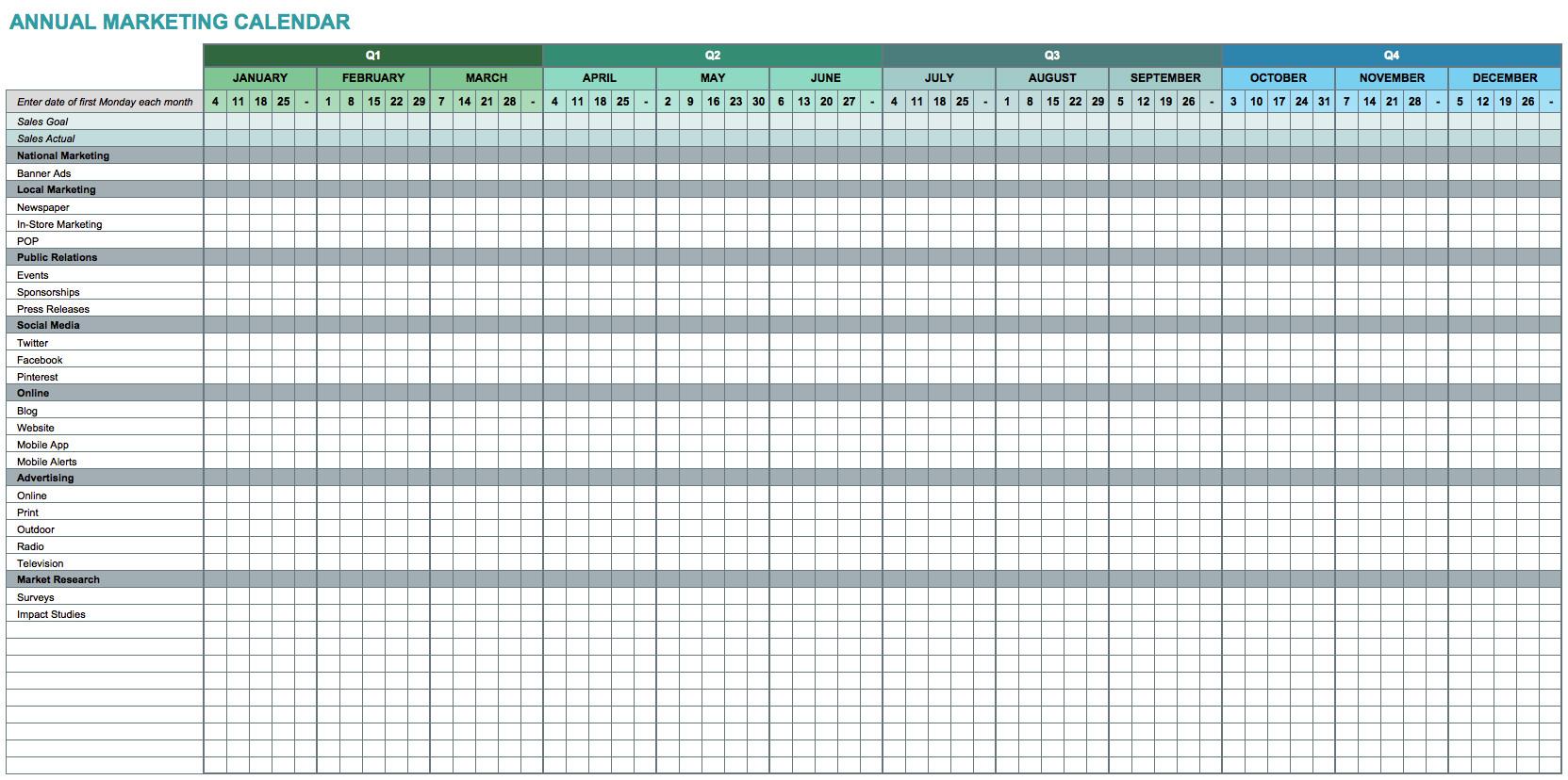 Excel 2003 Calendar Template Calendar Template for Excel Calendar Monthly Printable