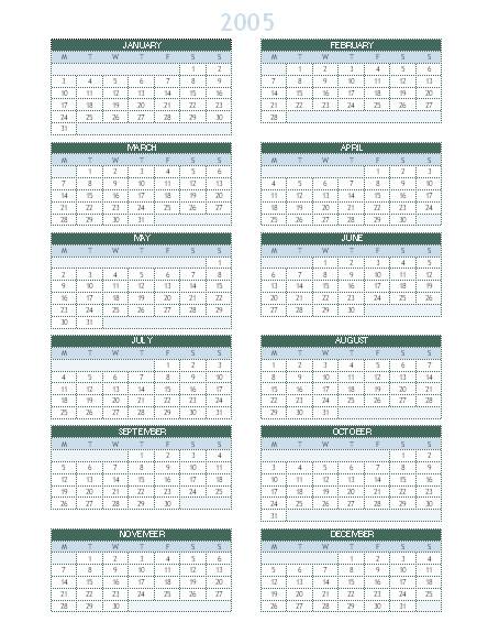 20052014 yearly calendar monsun 140