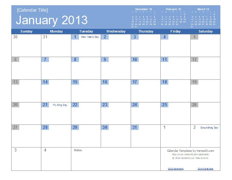 Excel 2003 Calendar Template Free Calendars and Calendar Templates Printable Calendars