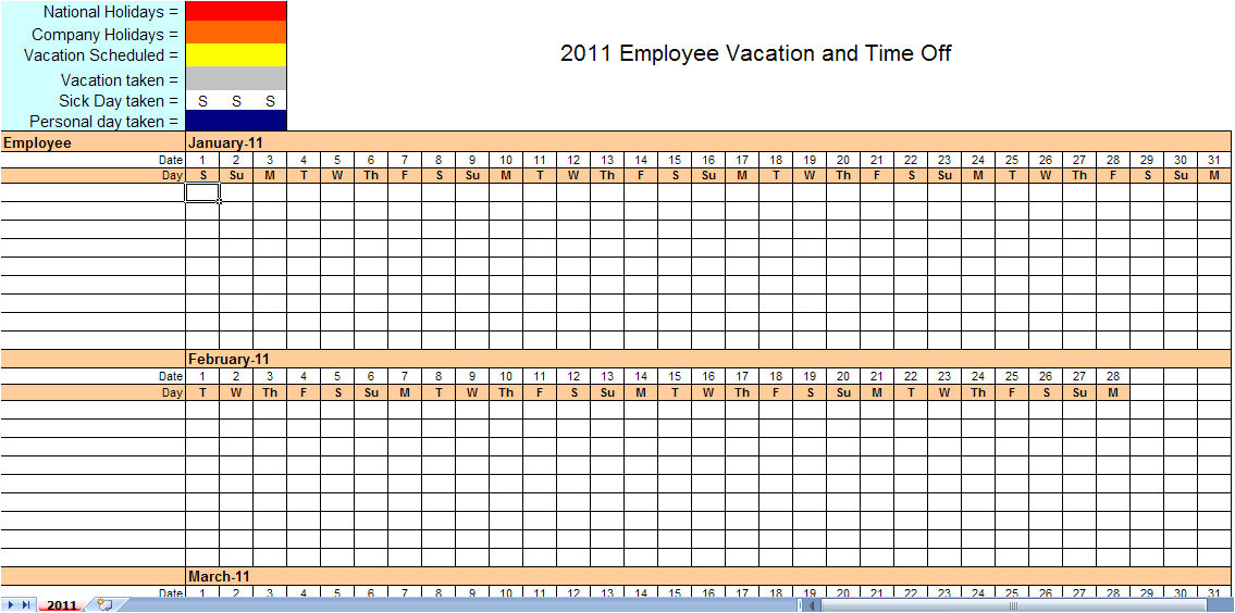 monthly employee schedule template excel 877