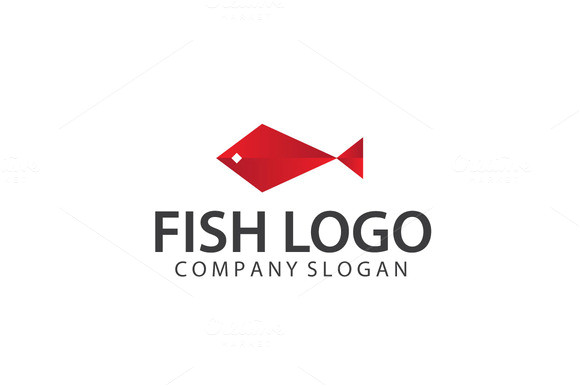 32602 exclusive fish logo template