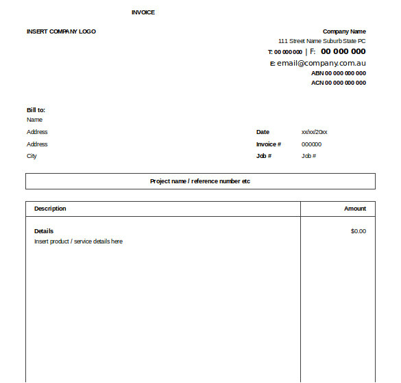 Exel Invoice Template Excel Invoice Template 31 Free Excel Documents Download